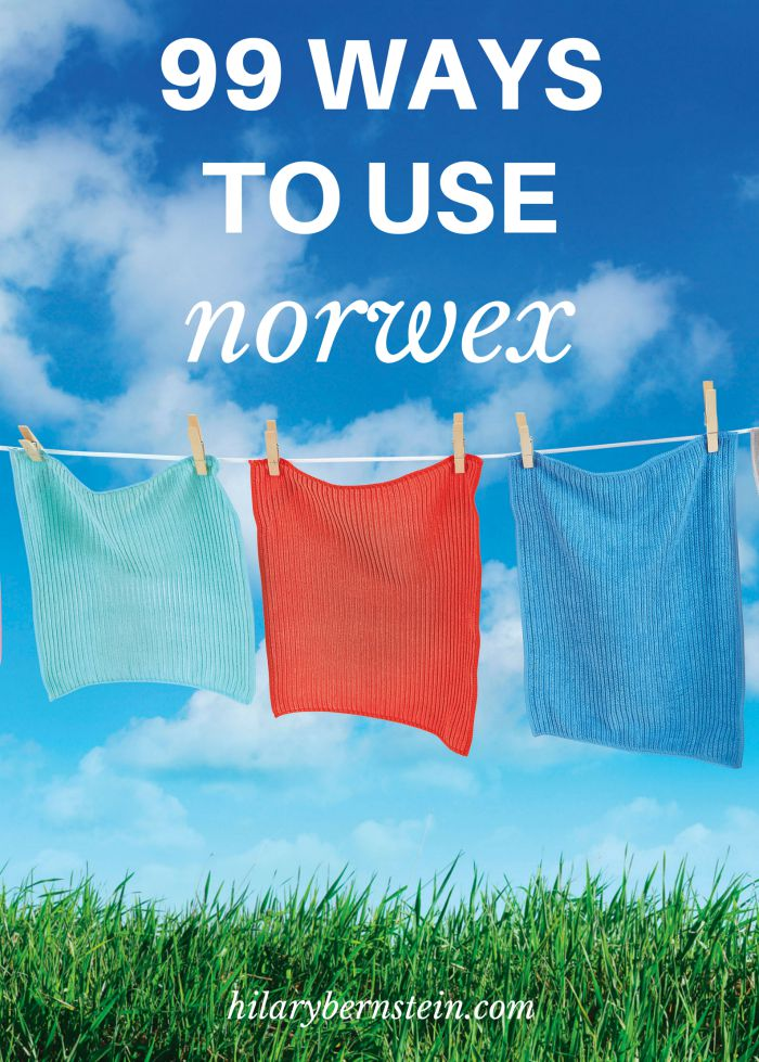 Wondering how you can use Norwex cleaning cloths? Here are 99 different ways to use Norwex.