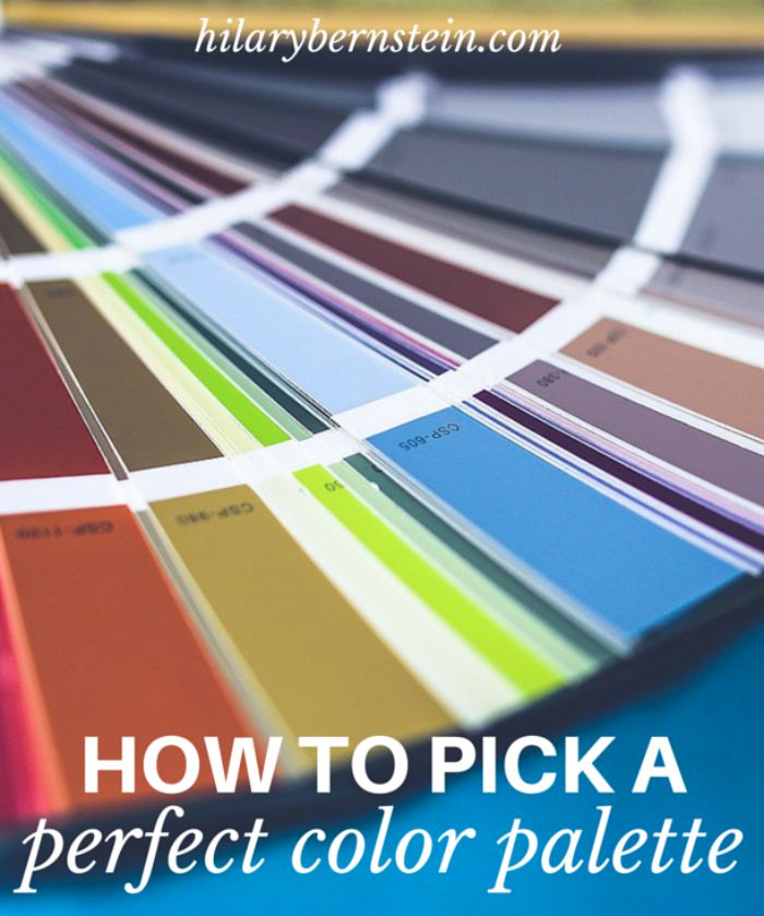 How To Pick A Perfect Color Palette No Place Like Home