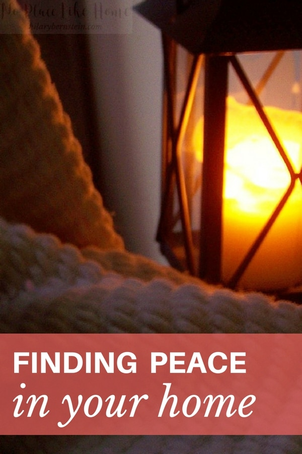 Wish you had peace in your home? It's not as impossible as you may imagine.