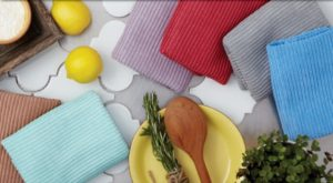 Norwex Kitchen Cloths and Towels can be used in any room in your home.