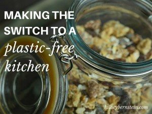 Thinking about making the switch to a plastic-free kitchen but you don't know what to do? Follow this easy 4-step process!