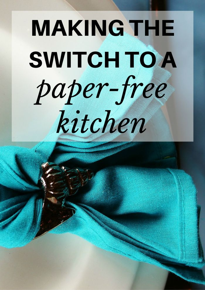 Thinking about making the switch to a paper-free kitchen but you don't know what to do? Follow this easy 3-step process!