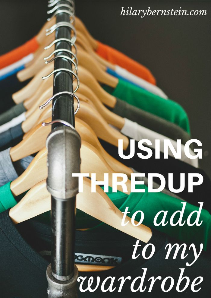 Wish you could add some new clothing to your wardrobe ... for free? You'll love using ThredUP to add to your wardrobe!