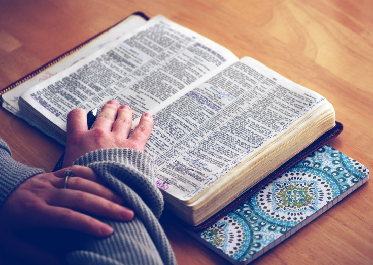 Spending time in the Word is the best solution for finding refreshment in your homemaking.