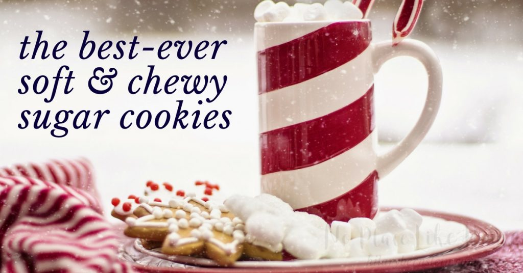 By using freezer baking for my holiday goodies, guests can stop by at a moment's notice and I can serve home-baked desserts like these Best-Ever Soft and Chewy Sugar Cookies within a matter of minutes. That's the perfect recipe for stress-free, homemade holidays!