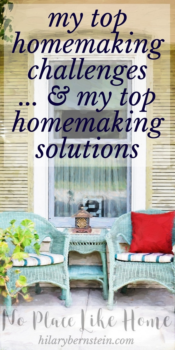 My ideal vision of my home is frequently hijacked by 5 common homemaking challenges. Good thing 5 homemaking solutions bring much contentment and joy!
