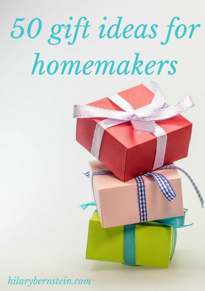 Shop for your favorite homemaker with these 50 gift ideas for homemakers!