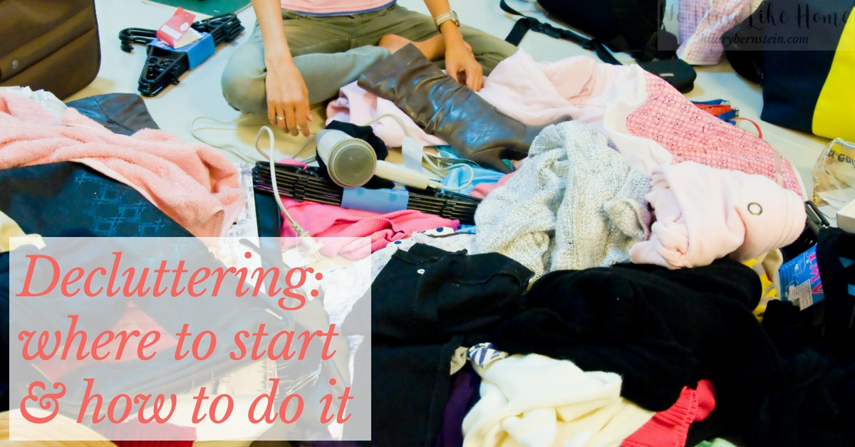 Do you have a mess of a home and have been wondering how to start decluttering? Let these stress-free steps guide your process!