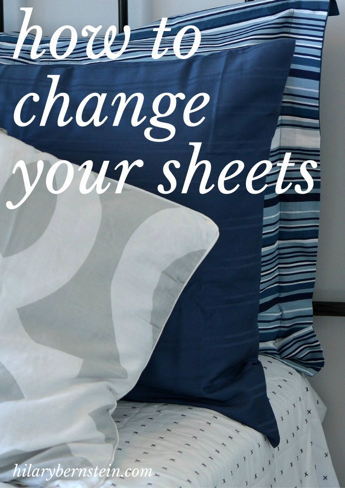 Ever wondered how to change your sheets? Here's an easy step-by-step tutorial!