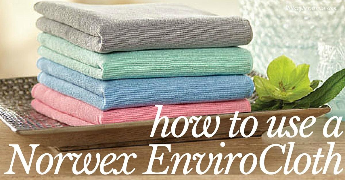 how to use a norwex envirocloth  u2022 no place like home