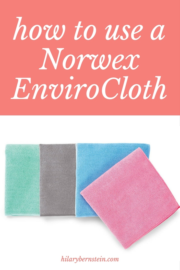 If you're new to Norwex, it can be confusing to figure out exactly how to use a Norwex EnviroCloth. Here's how to do it!