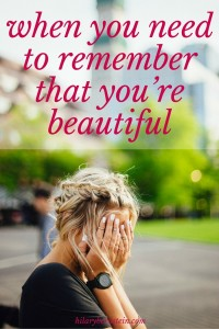 "Sometimes, you just need to remember that you're beautiful. (The new book ""Beauty Begins"" can help with this!)"