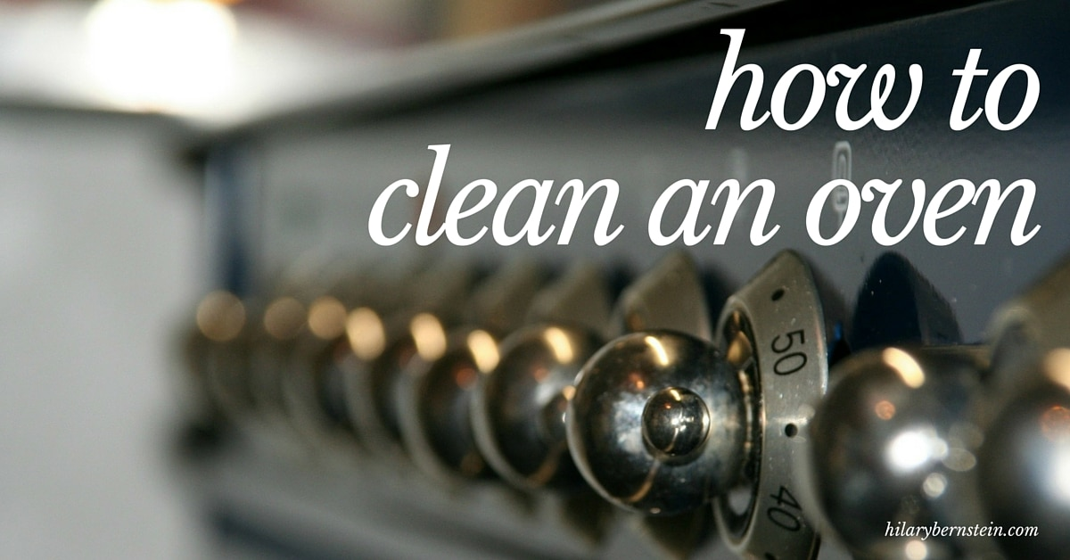 Ever wonder how to clean an oven? I have a safe and simple 3-step process … without using any toxic cleaning sprays!