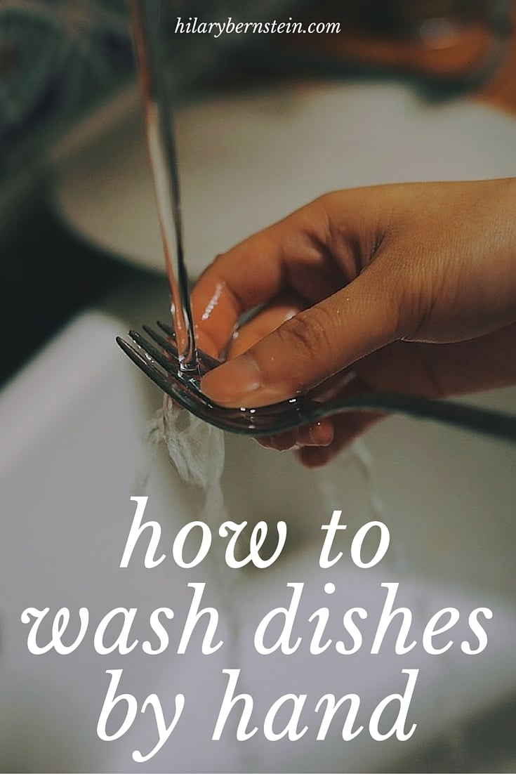 Learning how to wash dishes by hand isn't difficult, especially with this step-by-step process!