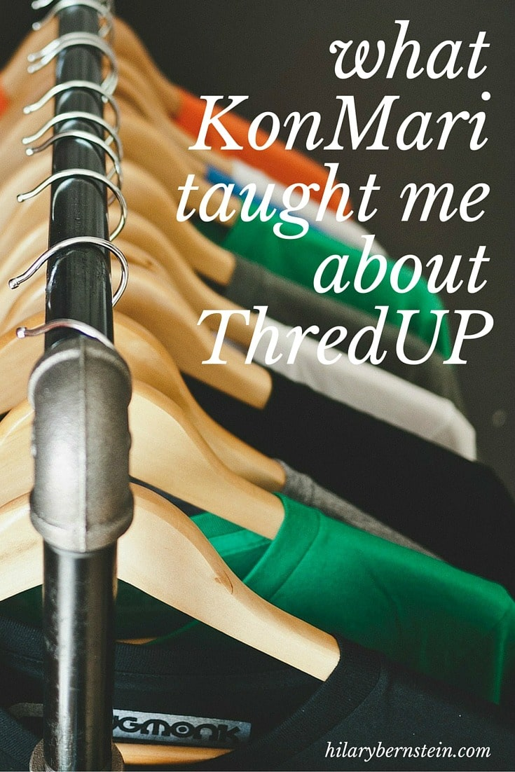 When I started the KonMari process, I never thought I would discover a new appreciation for ThredUP ...