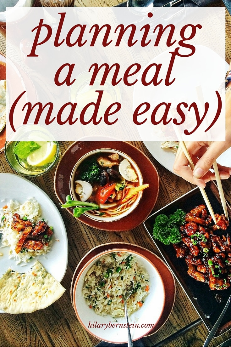 Enjoy planning a meal with these 5 simple elements … and hundreds of main dish and side dish ideas to pair together!