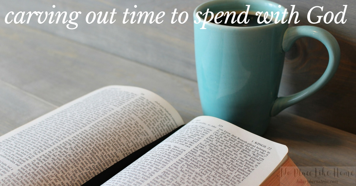 Have you been working at carving out time to spend with God? These 5 suggestions can help your walk with the Lord.