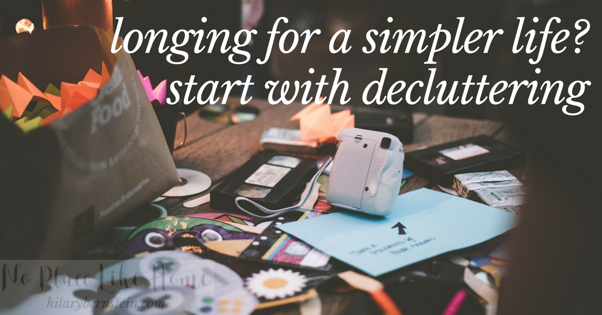 Got too much stuff? If you feel like you have too many belongings – or clutter – you can start to unstuff your life.