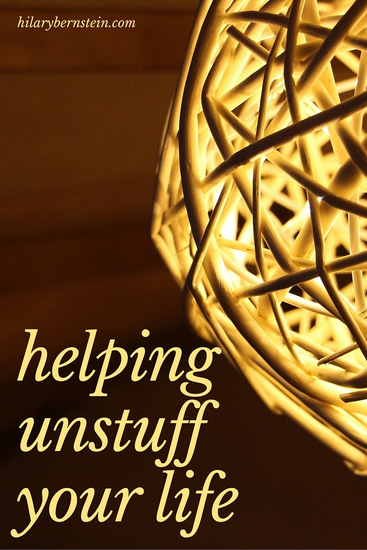 Got stuff? If you feel like you have too many belongings – or clutter – you can start to unstuff your life with Ruth Soukup's new book, Unstuffed.