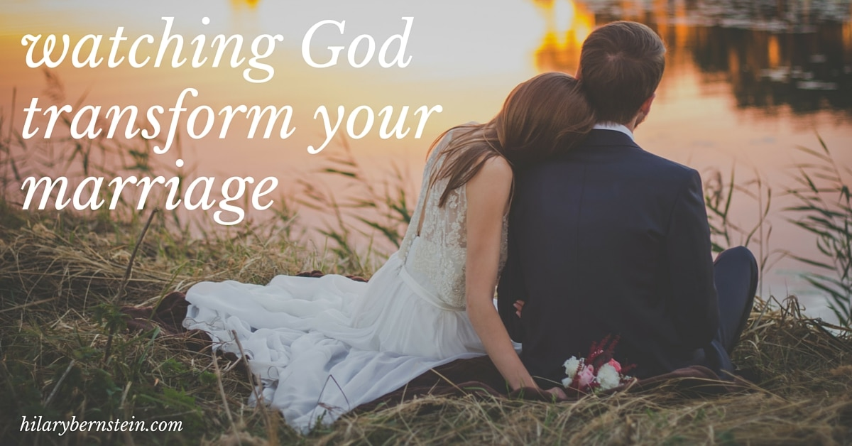 When marriage is difficult, turn to the Lord in prayer. It's one amazing way you'll be able to watch God transform your marriage.