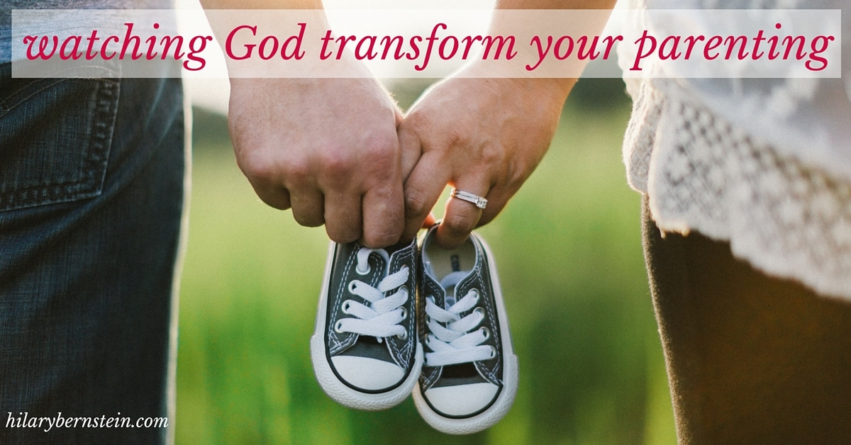 When parenting is difficult, turn to the Lord in prayer. It's one amazing way you'll be able to watch God transform your parenting.