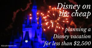 Need to stick to a budget but still want a fun Disney vacation? There are ways to experience Disney on the cheap. In fact, you can plan a Disney vacation for less than $2,500!