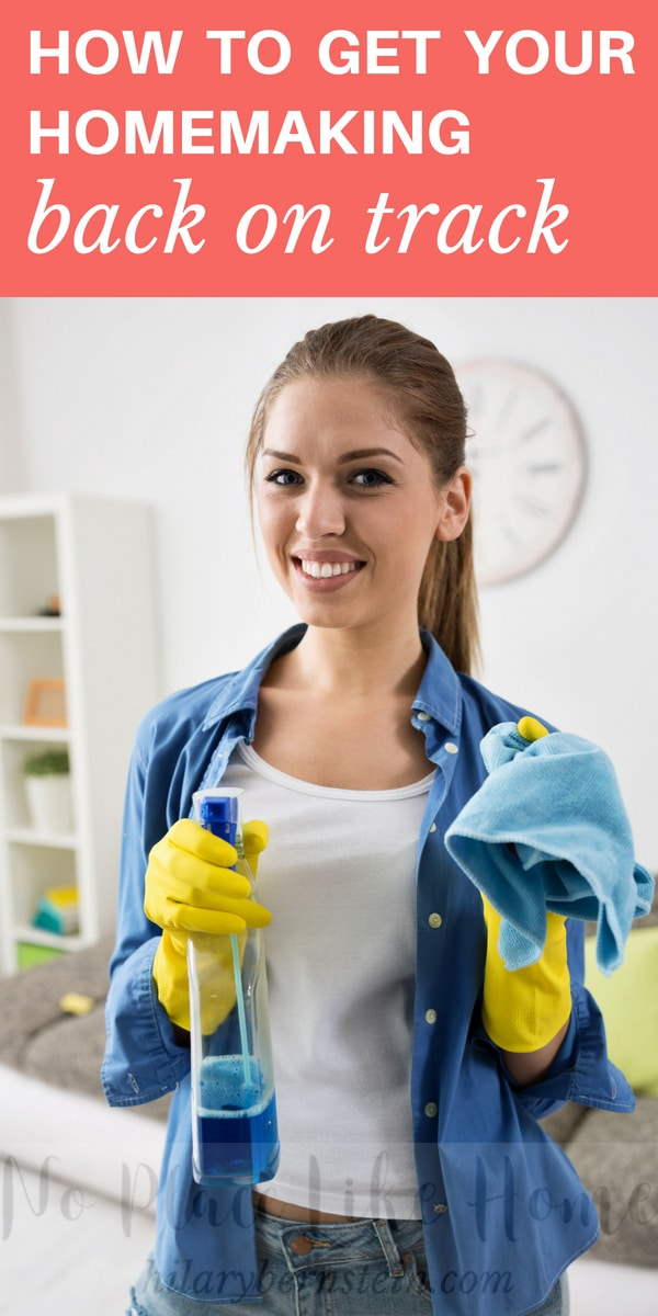 Feel like you need to get your homemaking back on track? This solution will help so much!