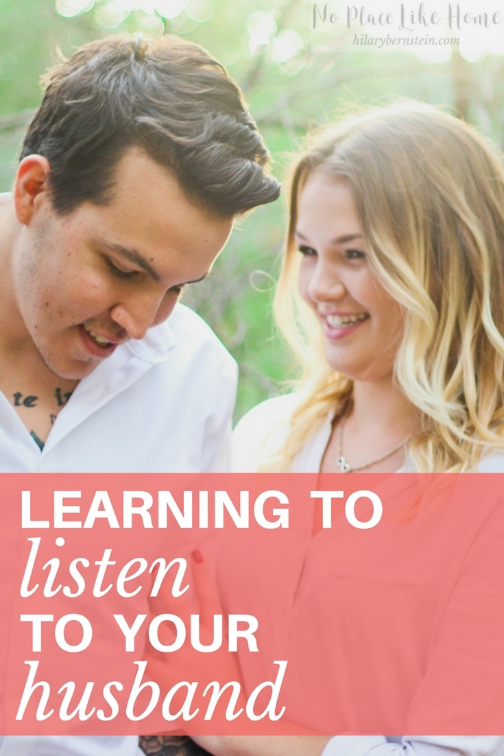 Whether your hubby is quiet or talkative, it's important to learn to listento your husband.