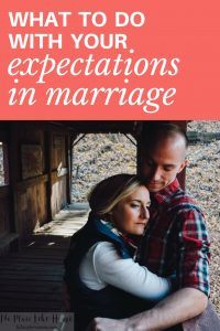 Are your expectations in marriage making a big difference in your contentment and satisfaction??