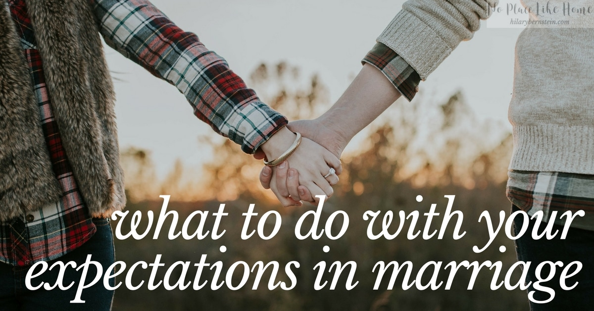 Are your expectations in marriage making a big difference in your contentment and satisfaction?