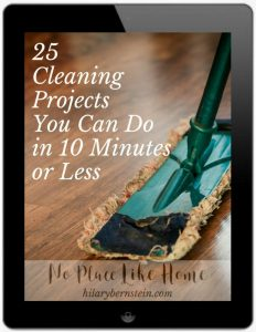 25 Cleaning Projects You Can Do in 10 Minutes or Less