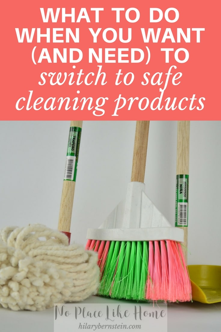 Keep your health in mind when cleaning by wisely choosing to use safe cleaning products.
