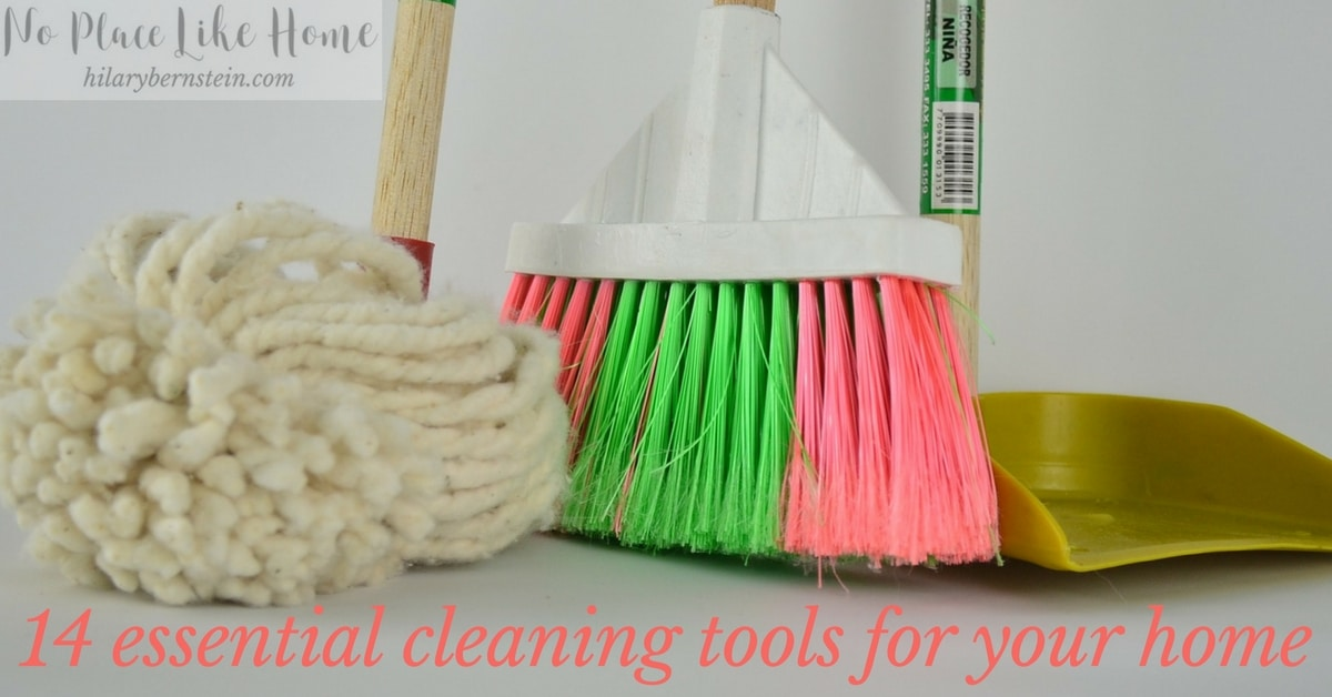 Choosing essential cleaning tools will help make your cleaning your home easier!