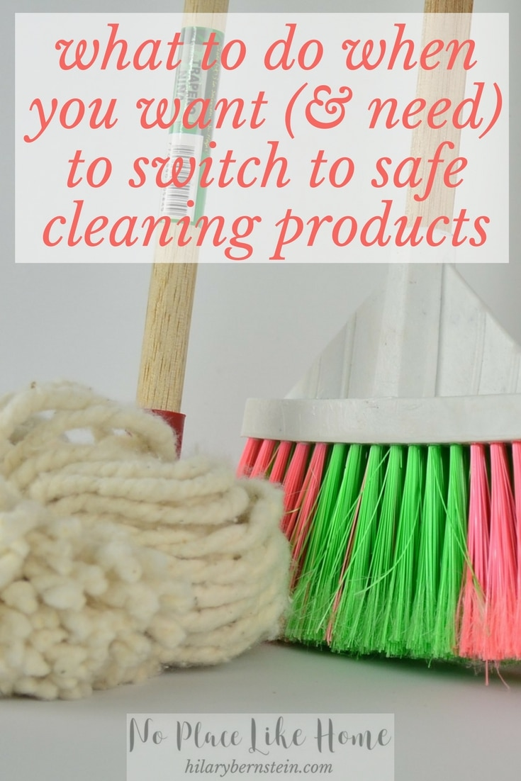 When you shop for cleaning products, keep your health in mind!