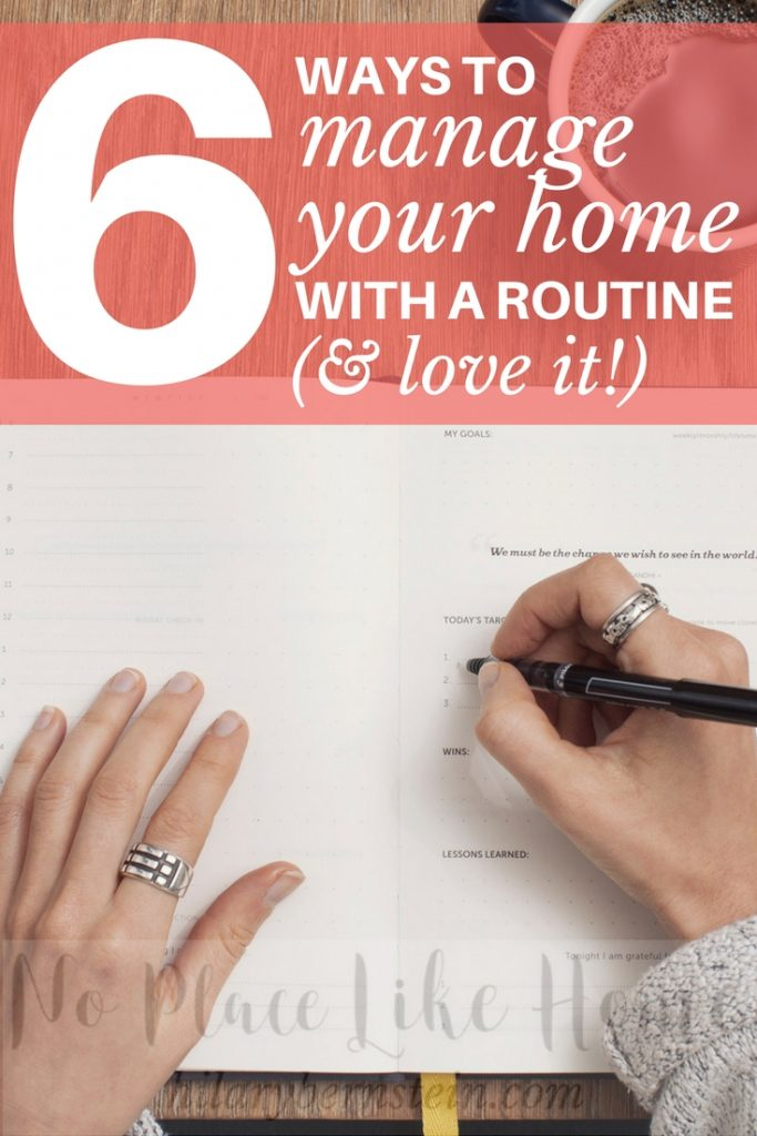 Imagine what your daily life could look like managing your home with homemaking routines (and loving it!) as opposed to the chaos of life without homemaking routines.
