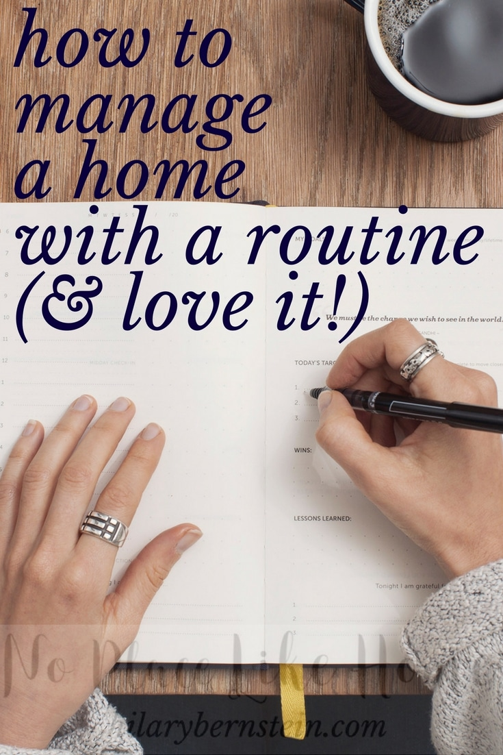 Imagine what your daily life could look like managing your home with homemaking routines as opposed to the chaos of life without homemaking routines.