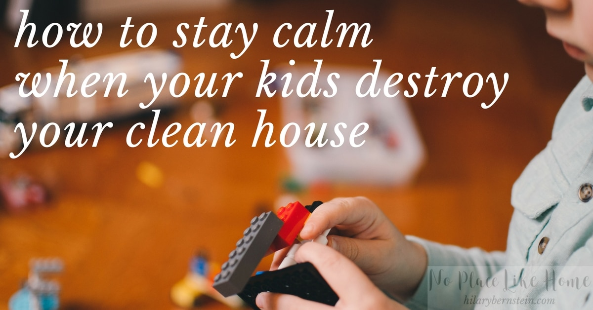 By using these five strategies in my home, I'm able to keep my cool – even when my kids destroy our house with their messes.