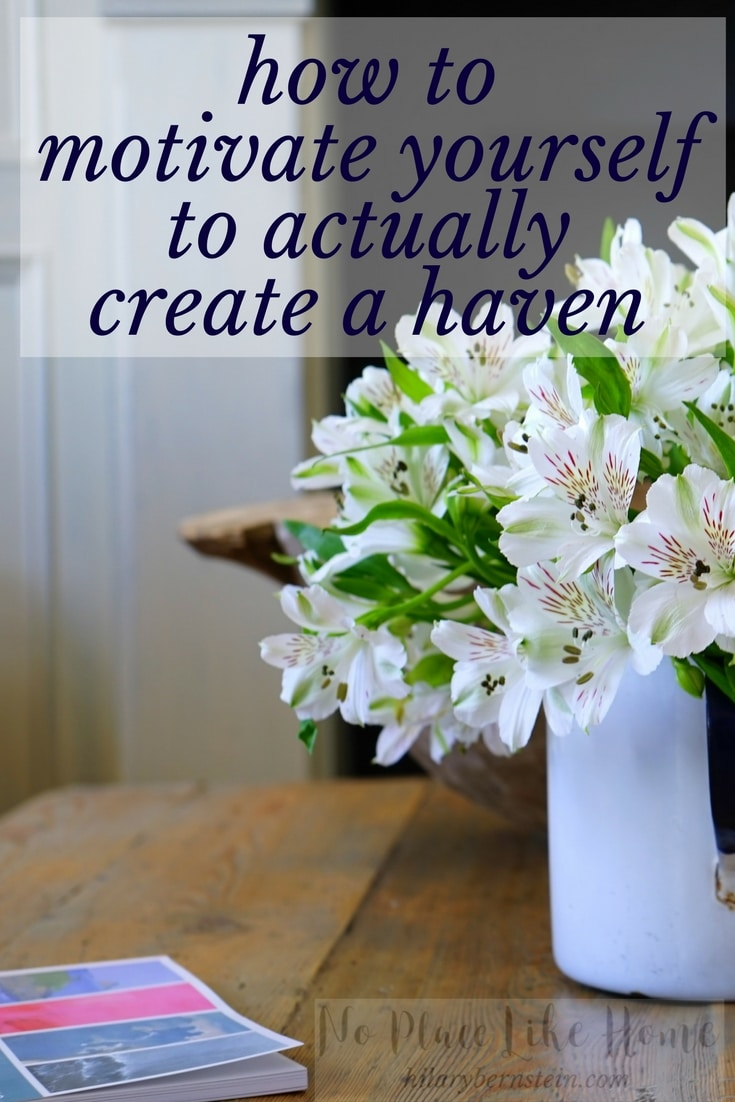 If you'd like to actually create a haven in your home, here are some powerful secrets on how to do it!