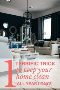 Stop worrying about a clean house with this quick, easy approach!