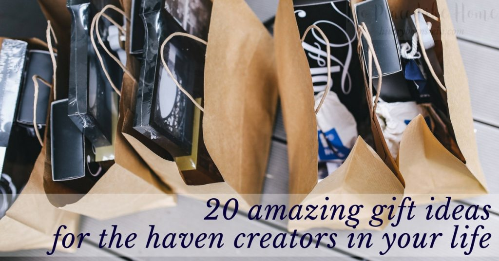 As you start your Christmas shopping, check out these20 different gift ideas for haven creators!