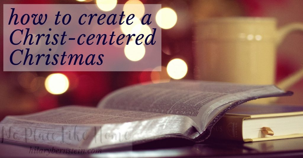 This Advent season, know that there's a pull away from a focus on Christ. Decide to resist this and do all you can to embrace Him and celebrate the good news of His birth.