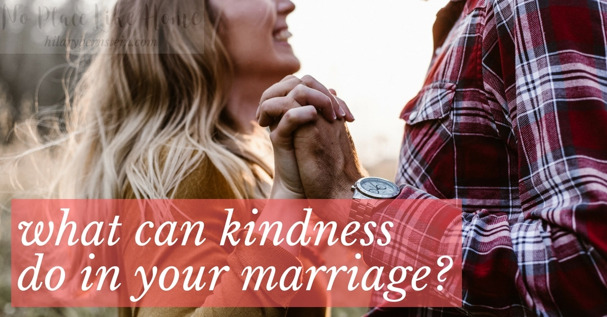 As you show your husband kindness, you become a haven to him. And your marriage becomes a haven for both of you.