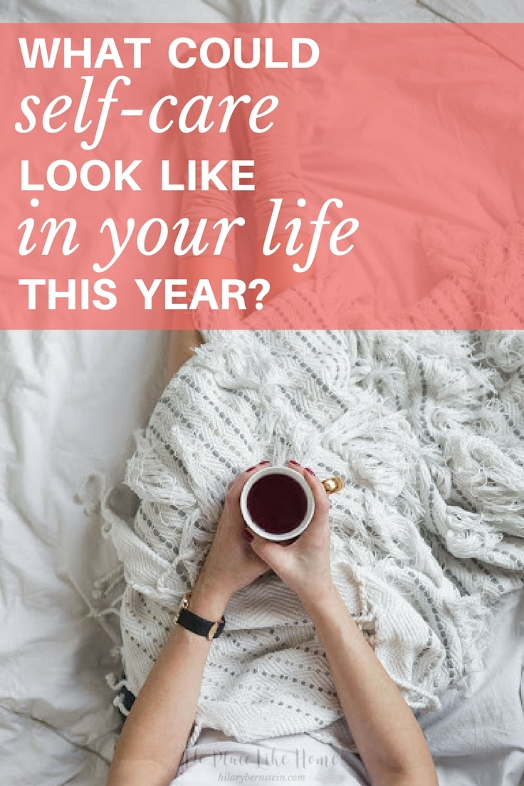 Need to feel refreshed? Here's what self-care could look like in your life this year.