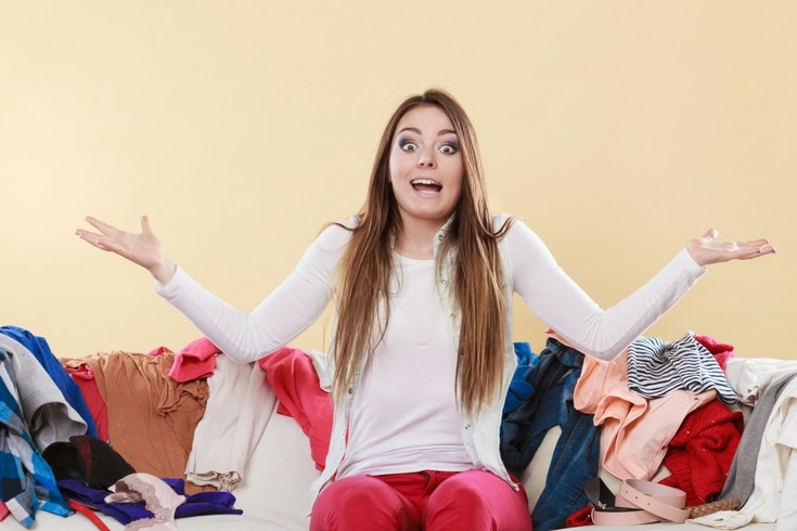 Drowning in clutter? Here's one way to declutter so you can free yourself – and your home – from the clutches of the clutter monster.