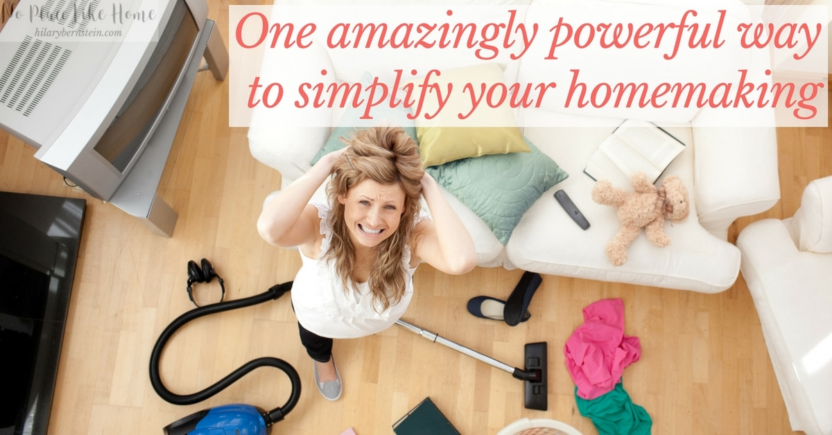 With a plan, some focus, and hard work, you can begin to conquer clutter in your home … and simplify your homemaking in the process!