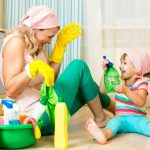 Feeling like you're caring for your home all the time, mama? Tired of being the mom who cleans all the time? Here are 2 ways to spend more time with your children and less time with your housework.