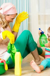 2 Ways to Not Be the Mom Who Cleans All the Time