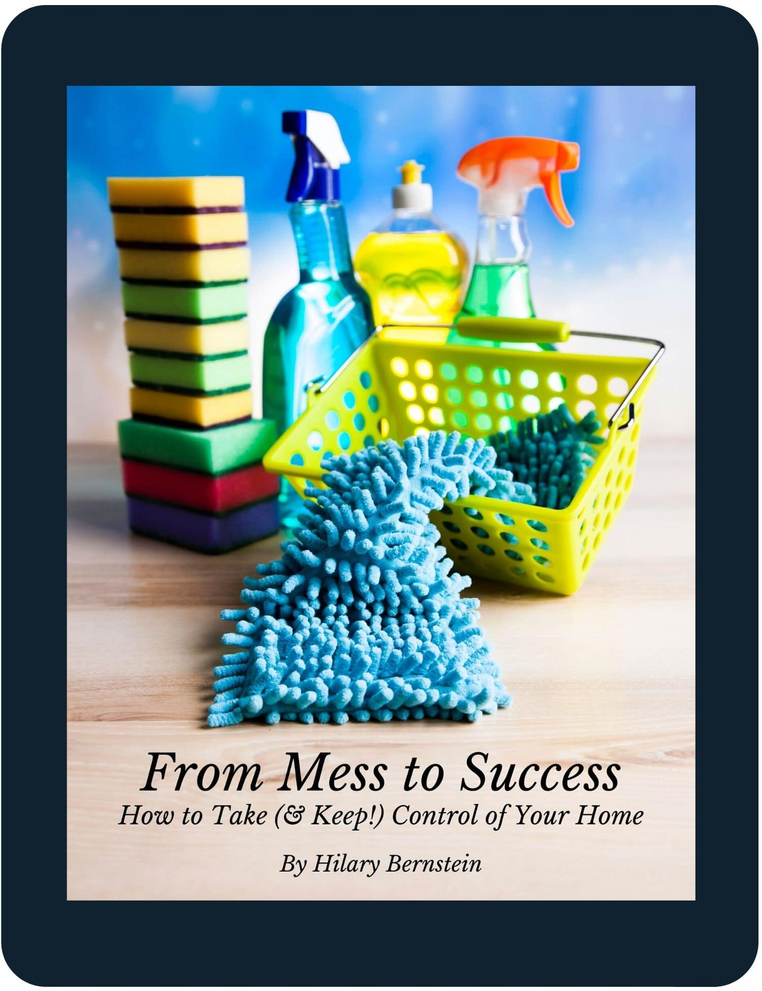 Tablet with From Mess to Success eBook