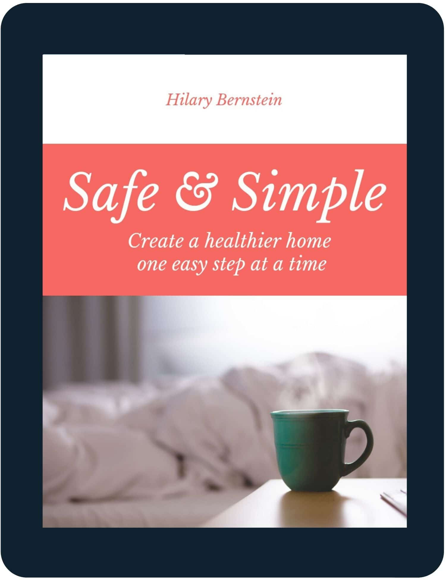 Tablet with Safe and Simple eBook