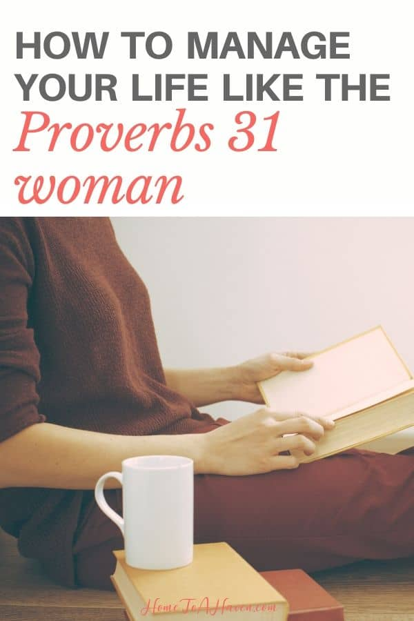 Woman reads her Bible